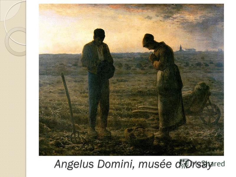 Angelus Domini, musée dOrsay