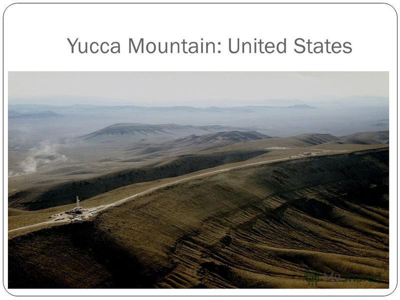 Yucca Mountain: United States