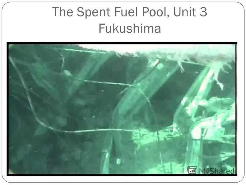 The Spent Fuel Pool, Unit 3 Fukushima