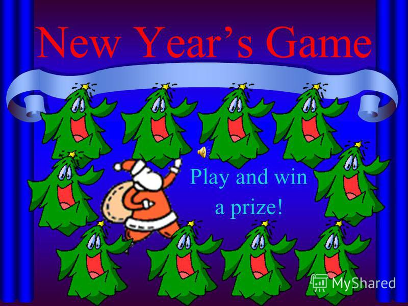 New Years Game Play and win a prize!