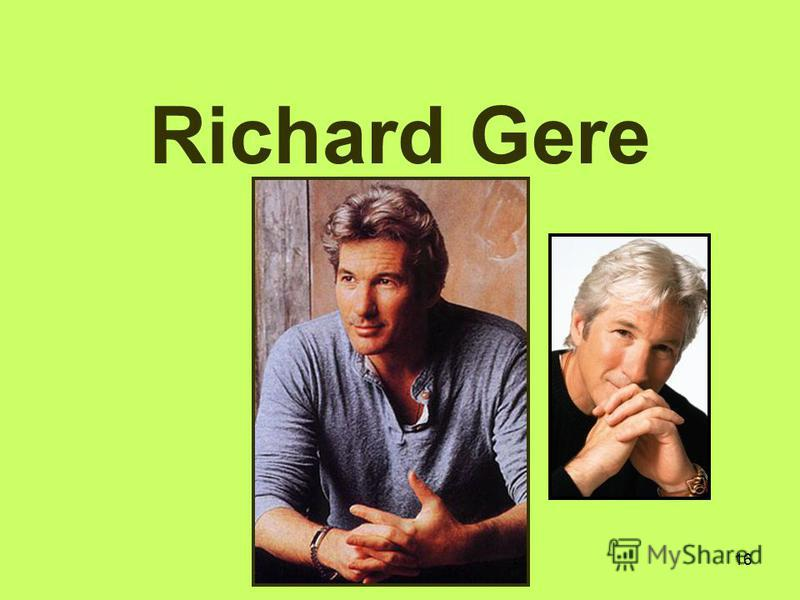 16 Richard Gere