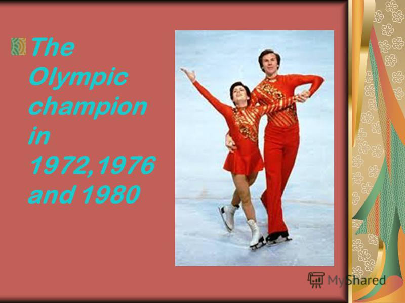 The Olympic champion in 1972,1976 and 1980