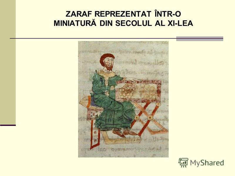 ZARAF REPREZENTAT ÎNTR-O MINIATURĂ DIN SECOLUL AL XI-LEA