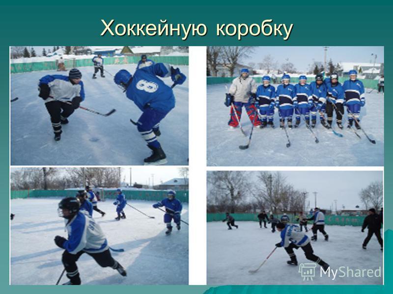 Хоккейную коробку