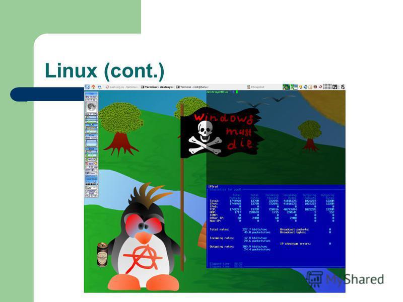 Linux (cont.)