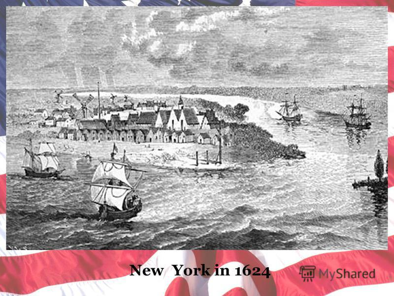 New York in 1624