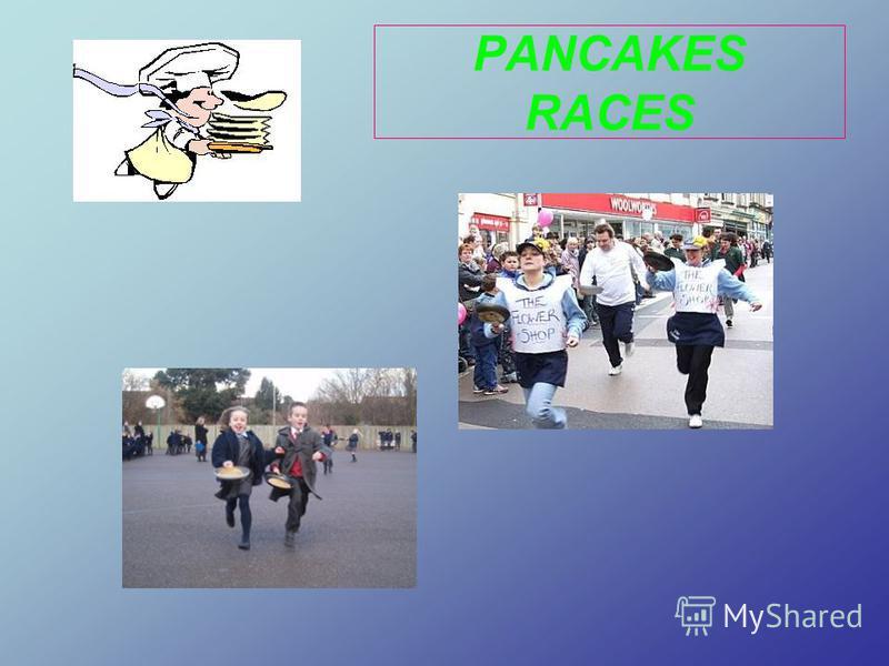 PANCAKES RACES
