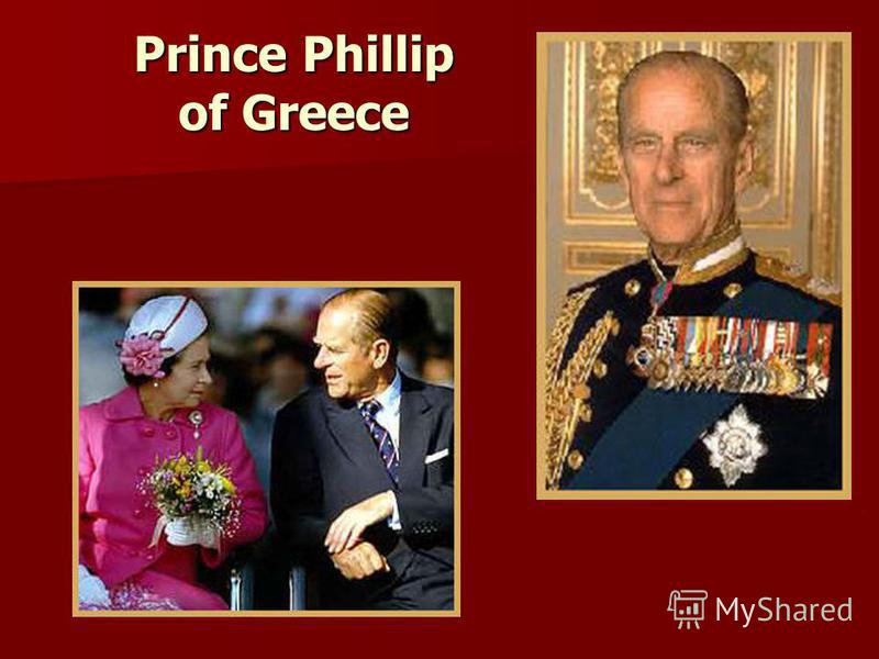 Prince Phillip of Greece