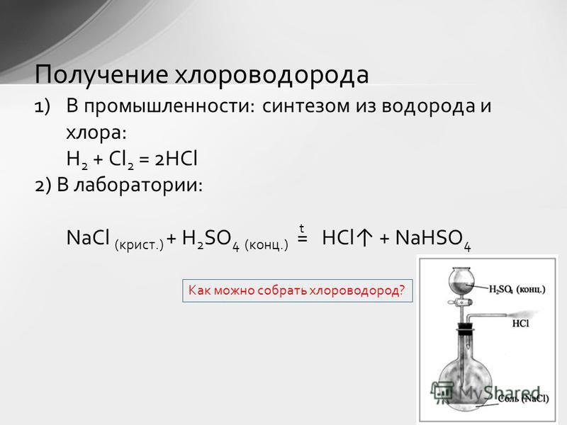 1)Бесцветные газы (HF при t<19,5 0 C – жидкость). 2)С резким запахом. 3)Токсичны. 4)Хорошо растворяются в воде. 5)Дымят во влажном воздухе. 6)Растворы галогеноводородов – кислоты. Физические свойства галогеноводородов