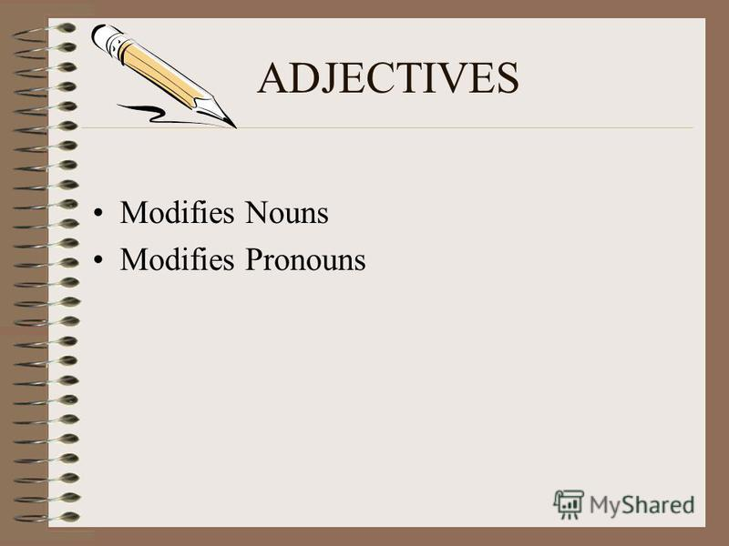 ADJECTIVES & ADVERBS RULES TO FOLLOW
