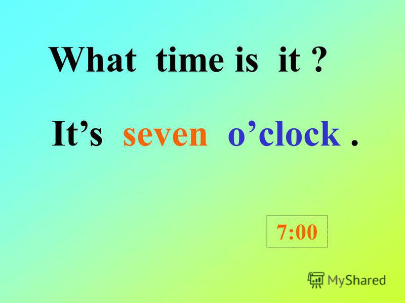 2B: Unit 5 What time is it What time is it ? oclock / half past