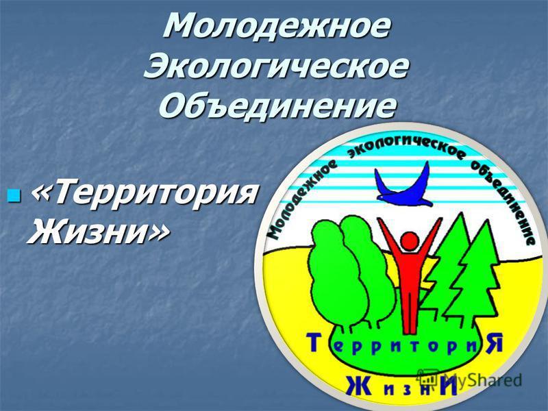 Молодежное Экологическое Объединение «Территория Жизни» «Территория Жизни»