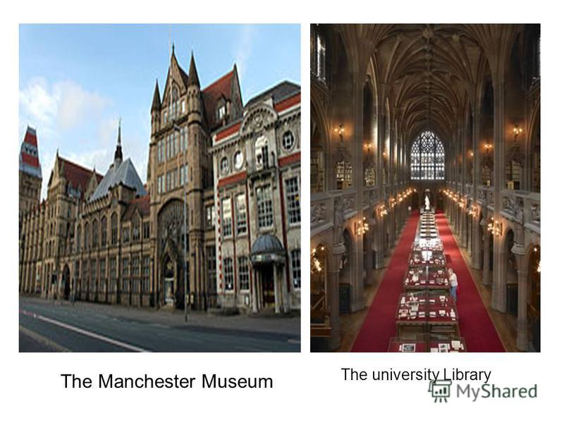 The Manchester Museum The university Library