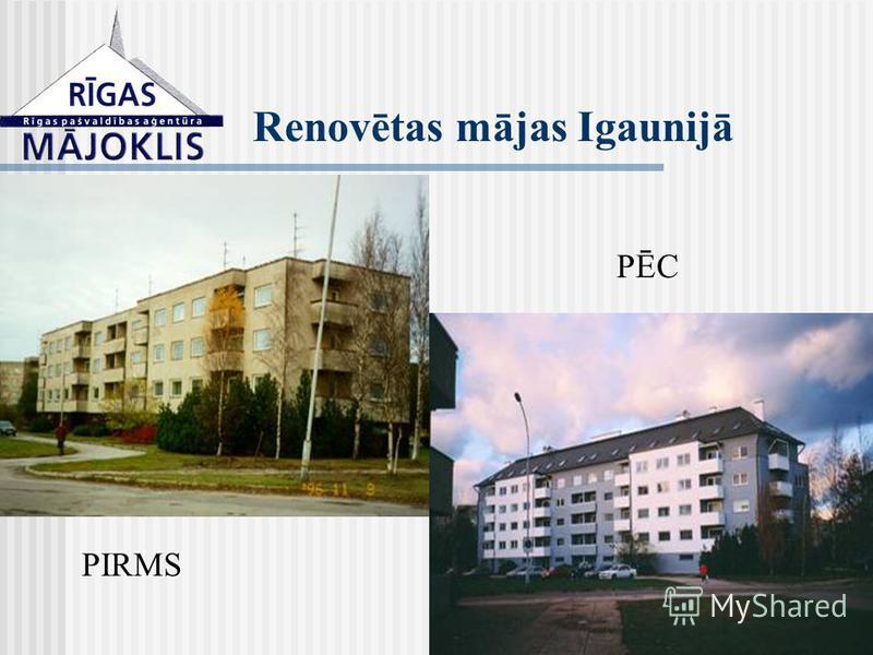 Renovētas mājas Igaunijā PIRMS PĒC