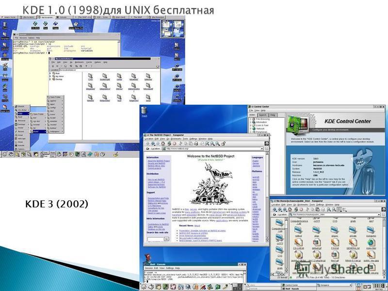 KDE 3 (2002)