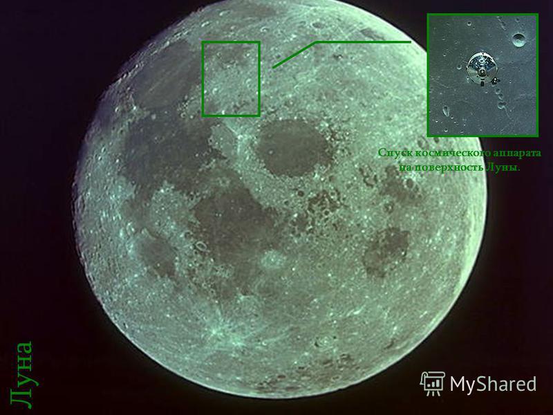 Программа «Аполлон» совместно с другими исследовательскими проектами позволили расширить и систематизировать знания в области космоса. Спуск космического аппарата на поверхность Луны. Луна