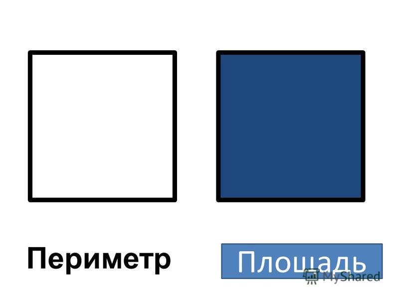 Периметр Площадь