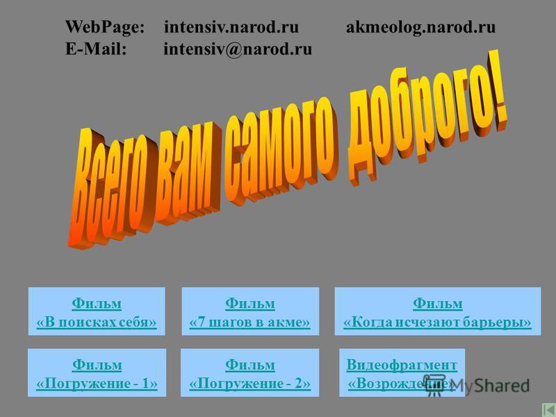 Сайт Акме Сайт Интенсив Дист. обруч. Медиа