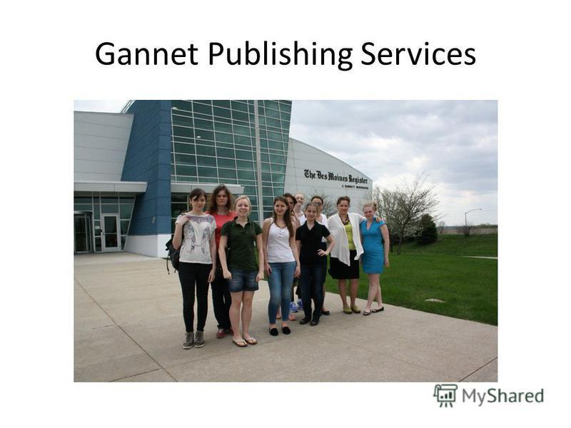 Gannet Publishing Services