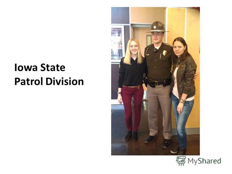 Iowa State Patrol Division