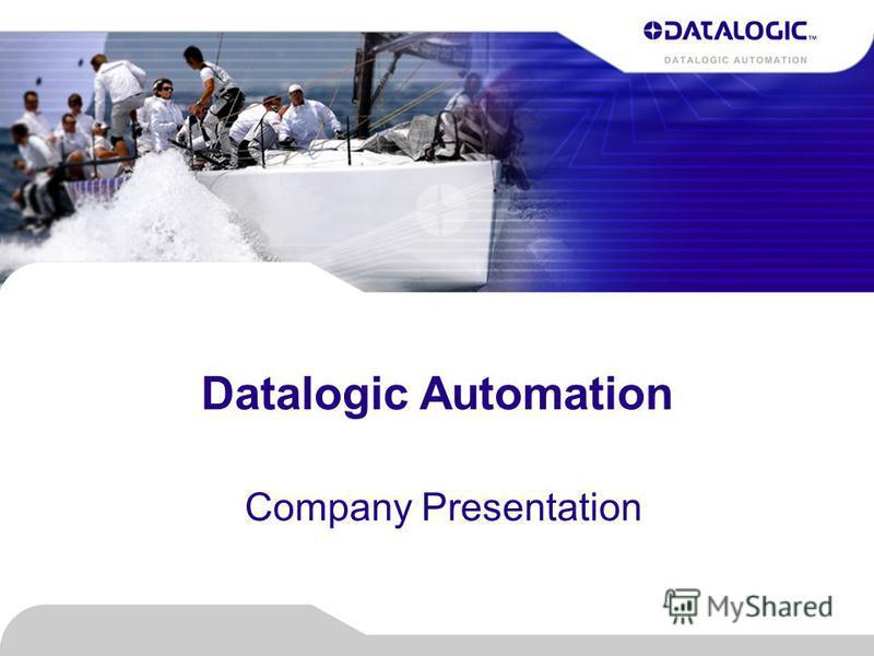 Datalogic Automation Company Presentation