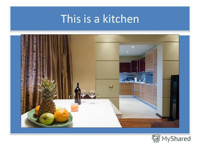 This is a kitchen