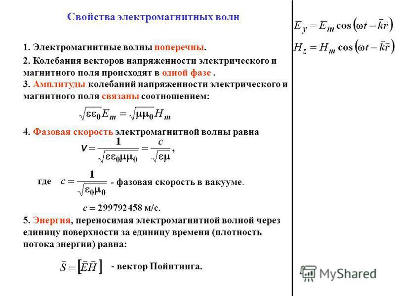 Электромагнитные Поля Излучения Презентация
