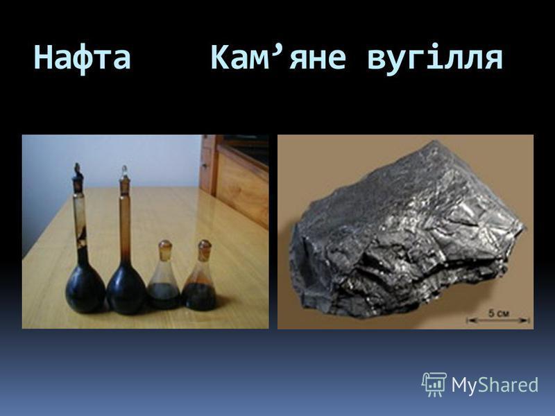 Нафта Камяне вугілля