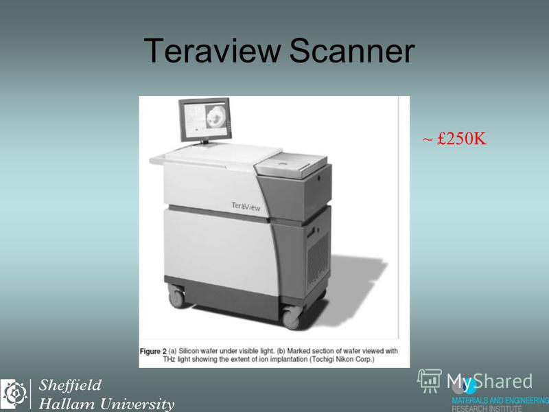 Teraview Scanner ~ £250K
