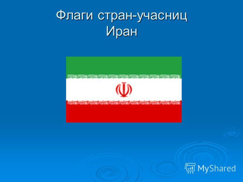 Флаги стран-участниц Иран