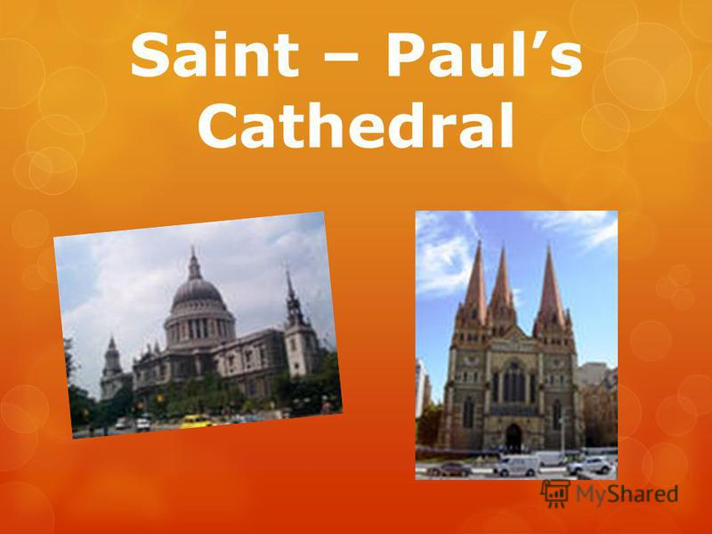 Saint – Pauls Cathedral