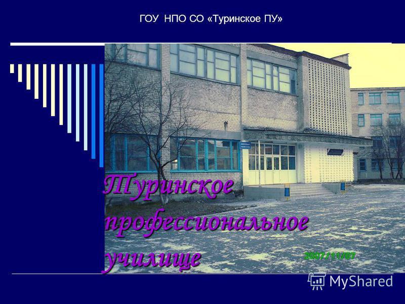 Туринское профессиональное училище ГОУ НПО СО «Туринское ПУ»