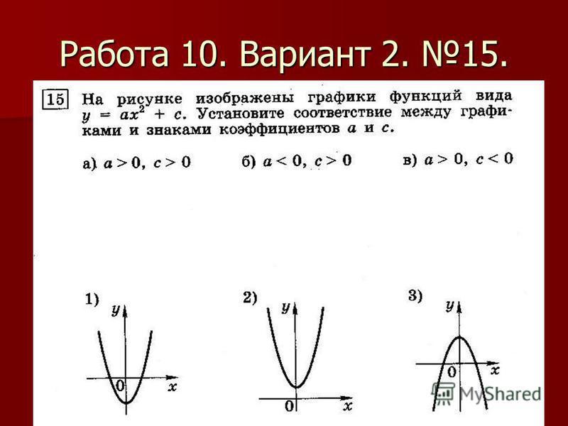 Работа 10. Вариант 2. 15.