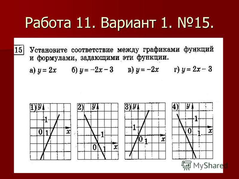Работа 11. Вариант 1. 15.