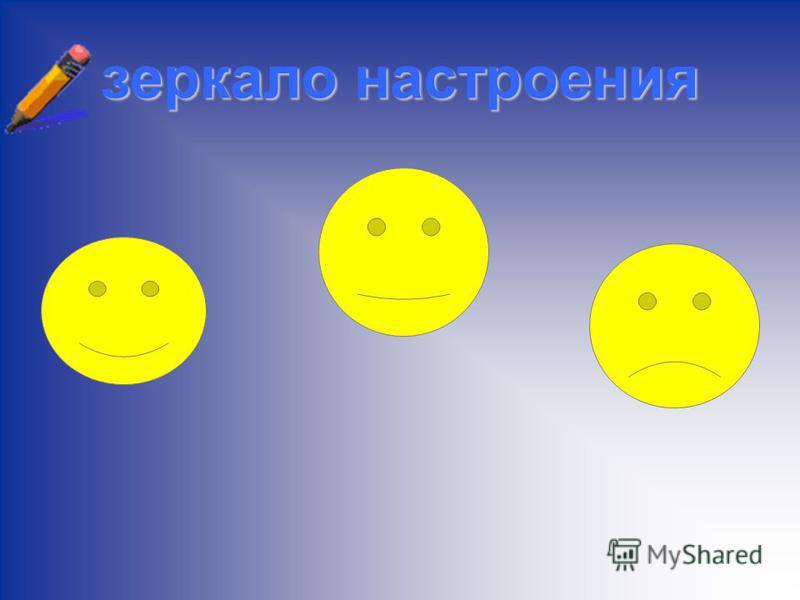 зеркало настроения