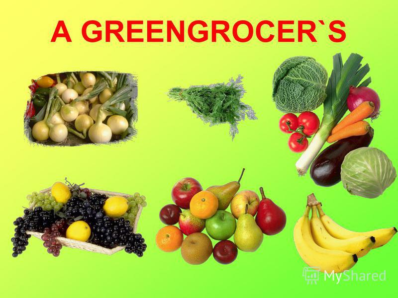 A GREENGROCER`S