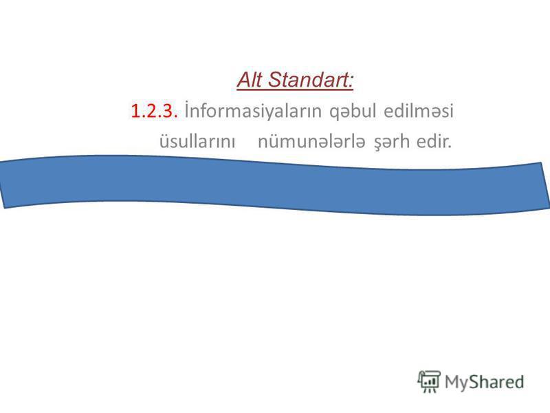 Mövzu : İnformasiya və informasiya prosesləri.