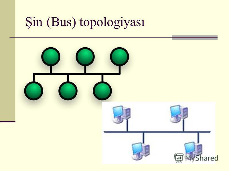 Şin (Bus) topologiyası