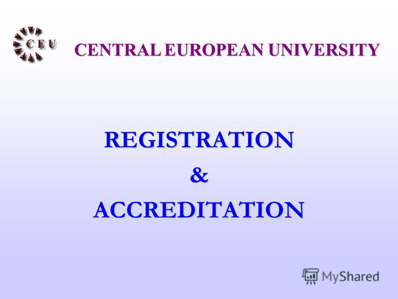 REGISTRATION&ACCREDITATION