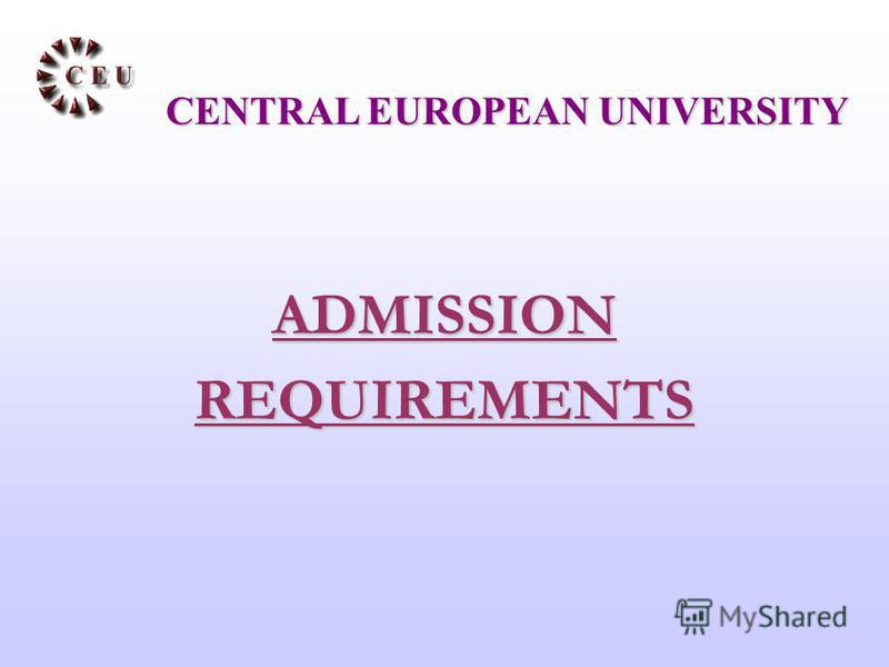 ADMISSIONREQUIREMENTS