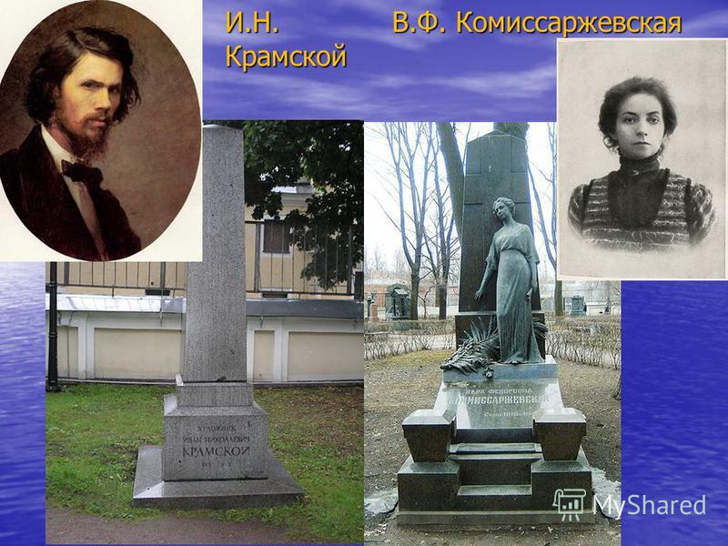 И.Н. Крамской В.Ф. Комиссаржевская В.Ф. Комиссаржевская