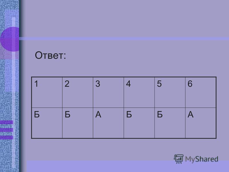 Ответ: 123456 ББАББА