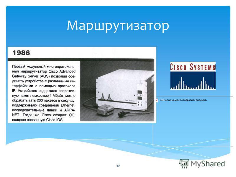 Маршрутизатор 32
