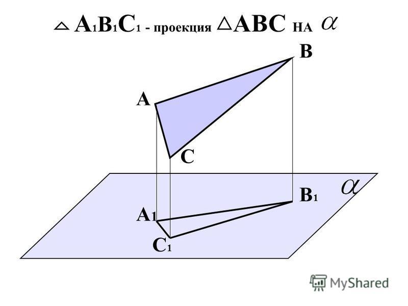А А1А1 АА 1 А 1 –ПРОЕКЦИЯ А НА А В А1А1 В1В1 Проекция АВ НА