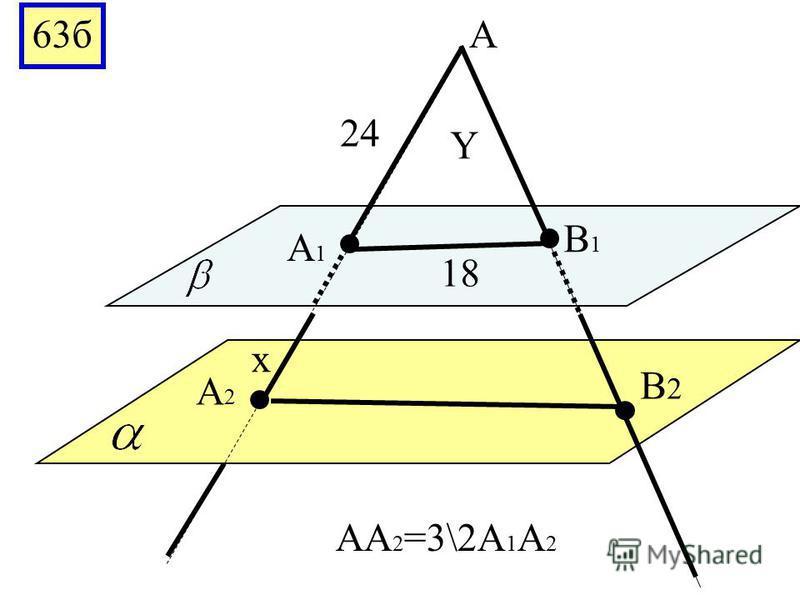 63 Y A A1A1 A2A2 B1B1 B2B2 12 6 5 A 1 A 2 =2A 1 A