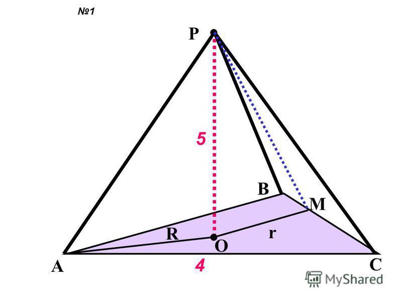 В правильной n-угольной пирамиде известна сторона основания- а и высота пирамиды- h Найдите 1)боковое ребро 2) апофему 3)площадь боковой и полной поверхности 4)угол между боковым ребром и плоскостью основания 5) двугранный угол при основании 6)плоски