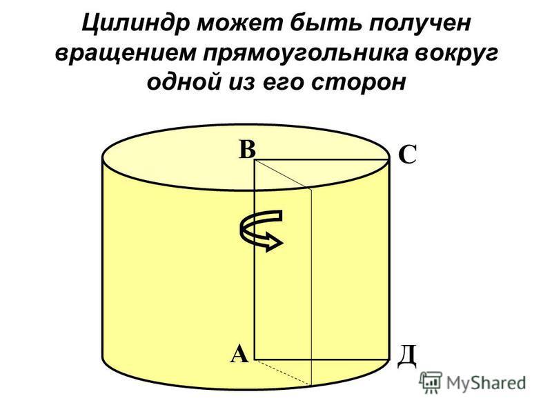 Если секущая плоскость проходит перпендикулярно оси цилиндра, то сечением является круг