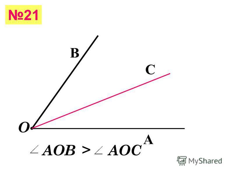 A B С = = ДЕ = = 20 Середина отрезка АС - точка В АЕ - точка С СЕ- точка В Отрезок серединой которого является точка Д - СЕ точка С - АЕ, ВД