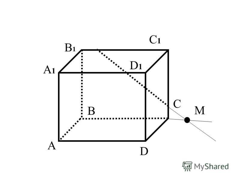D1D1 A B C D A1A1 B1B1 C1C1 M