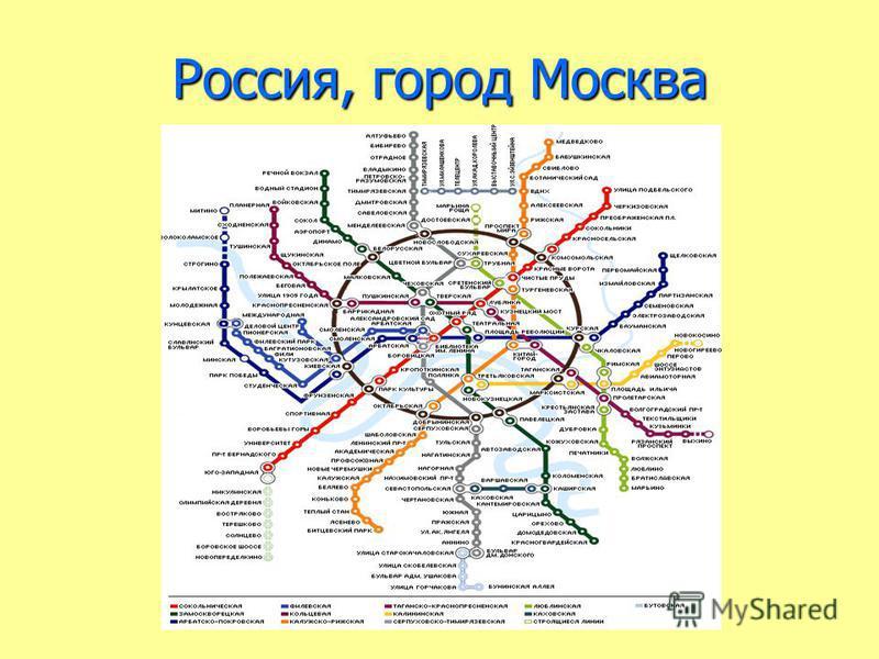 Россия, город Москва